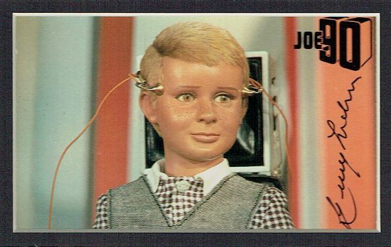 Gerry Anderson Autograph Signed Display Joe P